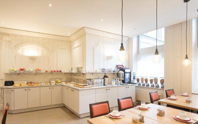 Ontbijtzaal van Hotel Gravensteen Gent