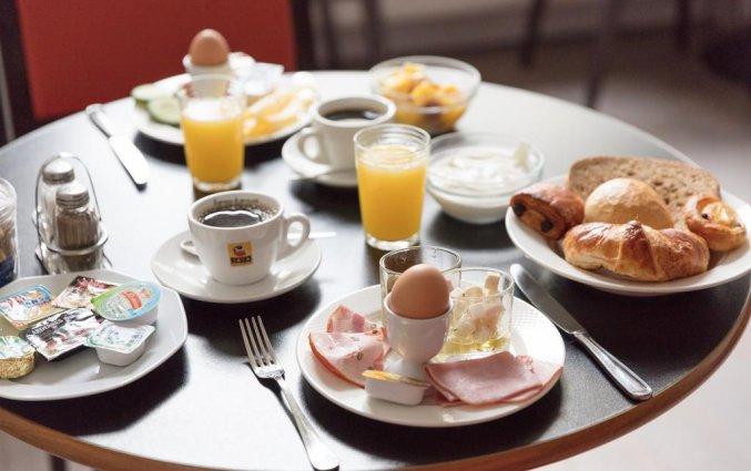Ontbijt van Hotel Gravensteen Gent