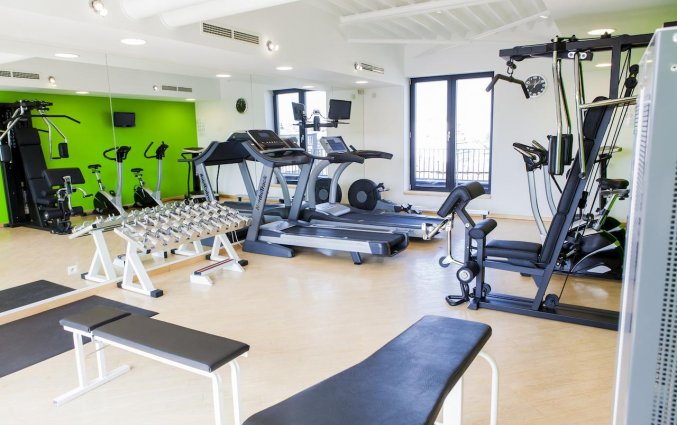 Fitnessruimte van Hotel Le Chatelain Brussel
