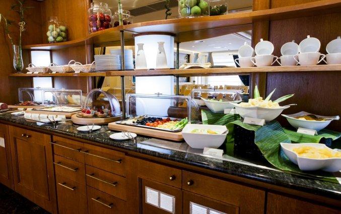 Ontbijtbuffet van Hotel Le Chatelain Brussel