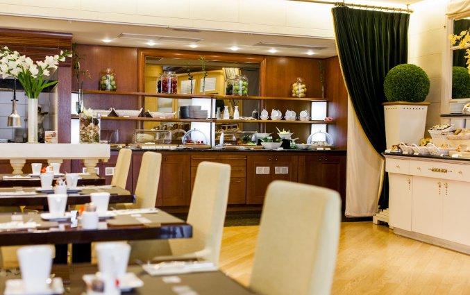 Ontbijtcafè van Hotel Le Chatelain Brussel