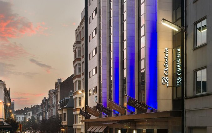 Buitenaanzicht van Hotel Le Chatelain Brussel