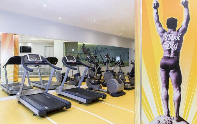 Fitnessruimte van Novotel Brussels City Centre