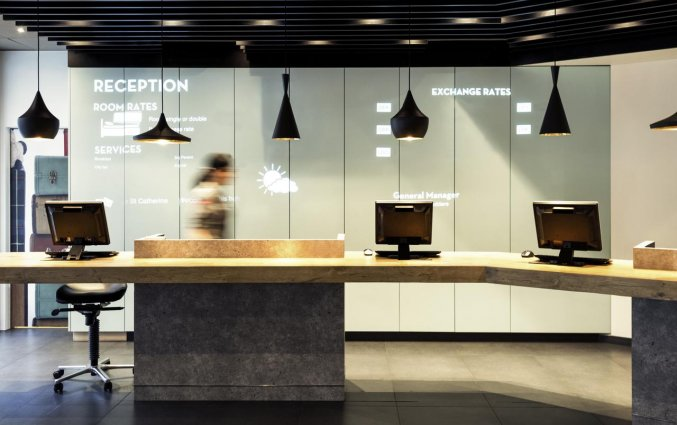 Receptie van Hotel ibis Brussels City Centre