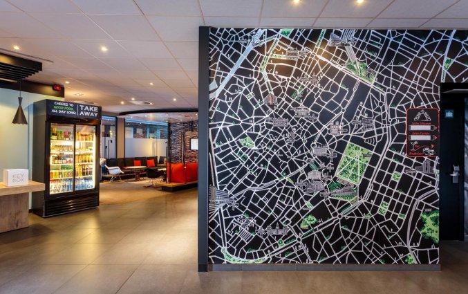 Lobby van Hotel ibis Brussels City Centre