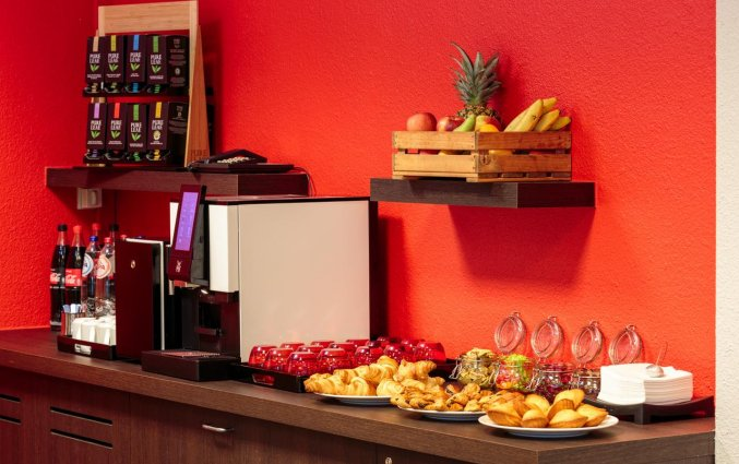 Ontbijtbuffet van Hotel ibis Brussels City Centre