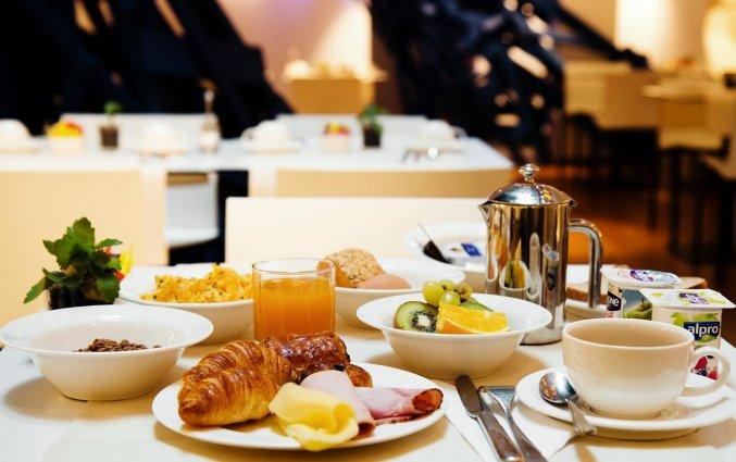 Ontbijt van Aqua Hotel Brussel in Brussel