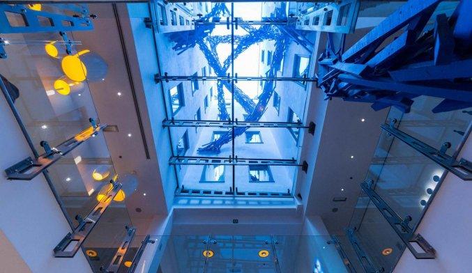 Hal van Aqua Hotel Brussel in Brussel