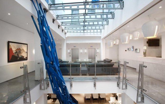 Lobby van Aqua Hotel Brussel in Brussel
