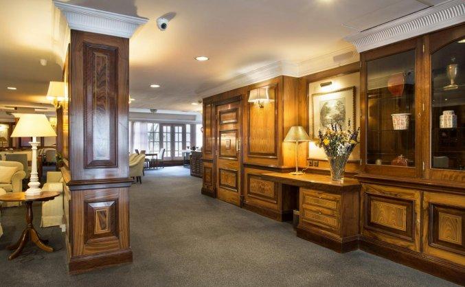 Lobby van Hotel Louise Bruxelles