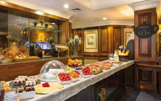 Ontbijtbuffet van Hotel Louise Bruxelles