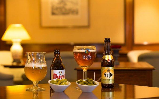 Biertjes in Hotel Louise Bruxelles