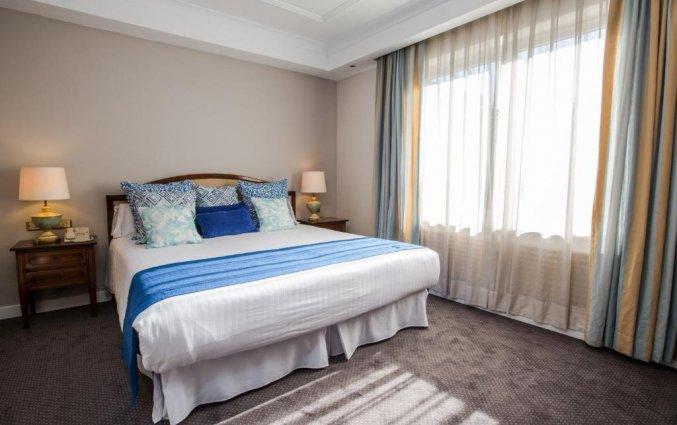 Tweepersoonskamer van Hotel Louise Bruxelles