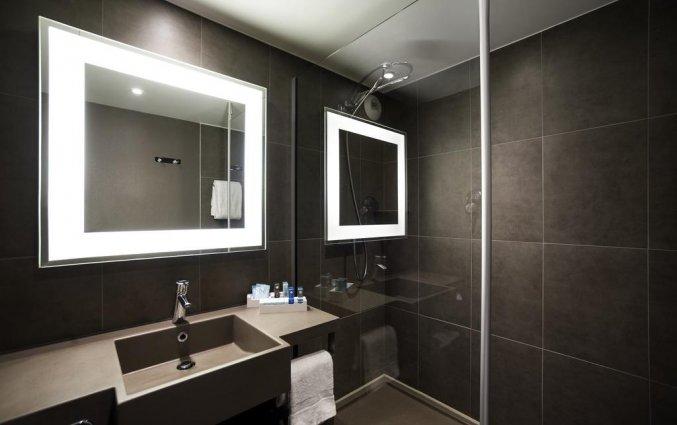 Badkamer van een tweepersoonskamer in Novotel Gent Centrum