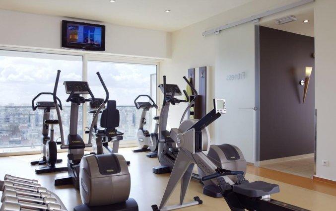 Fitnessruimte van Hotel Lindner WTC Antwerpen