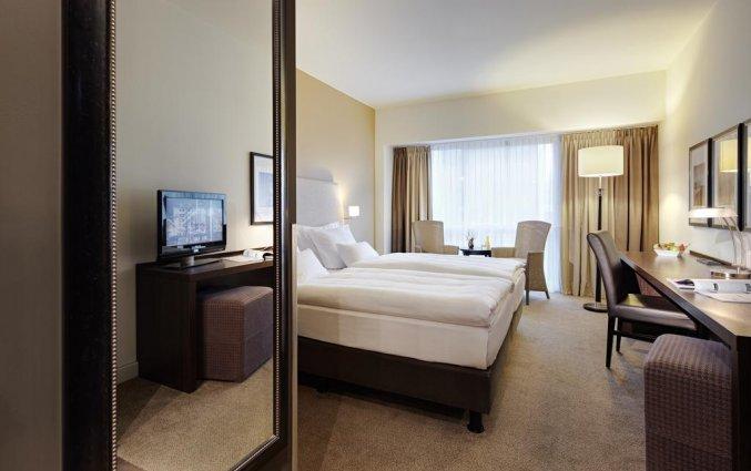 Tweepersoonskamer in Hotel Lindner WTC Antwerpen