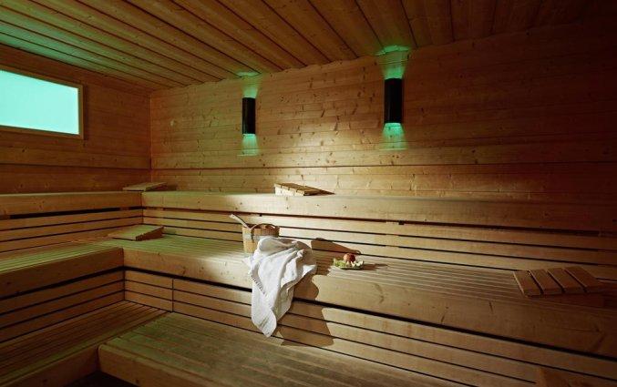 Sauna van Hotel Lindner WTC Antwerpen