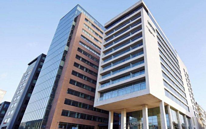 Exterieur van Hotel Lindner WTC Antwerpen