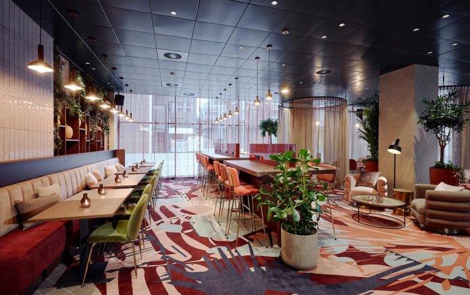 Lounge van Hotel Lindner WTC Antwerpen