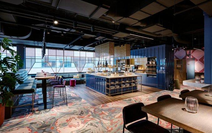Ontbijtzaal van Hotel Lindner WTC Antwerpen