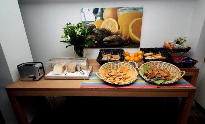 Ontbijtzaal van Hotel TripInn Eden in Antwerpen
