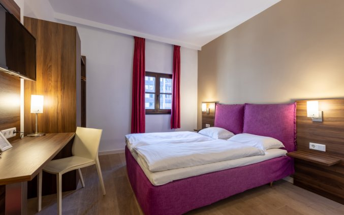 Tweepersoonskamer in Hotel TripInn Eden in Antwerpen