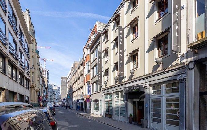 Exterieur van Hotel TripInn Eden in Antwerpen