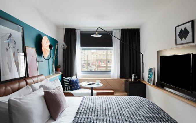 Tweepersoonskamer in Hotel Indigo in Antwerpen