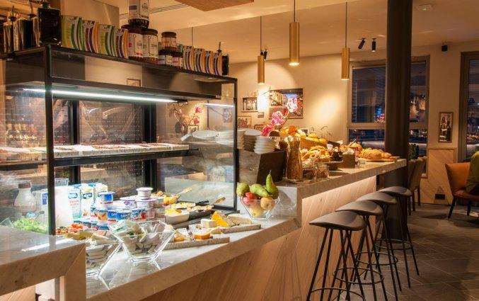 Ontbijtzaal van Hotel Indigo in Antwerpen