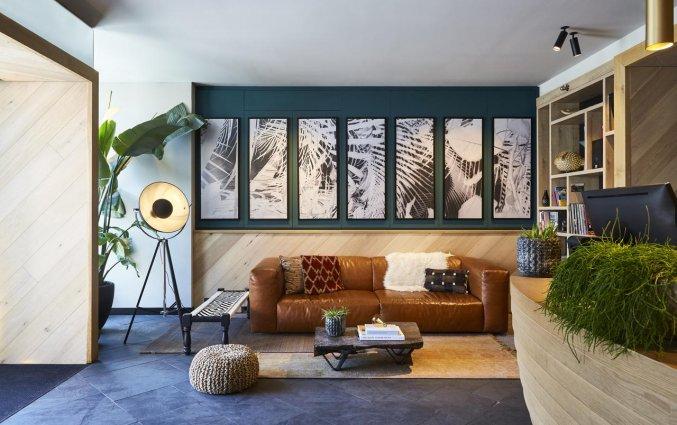 Lounge van Hotel Indigo in Antwerpen