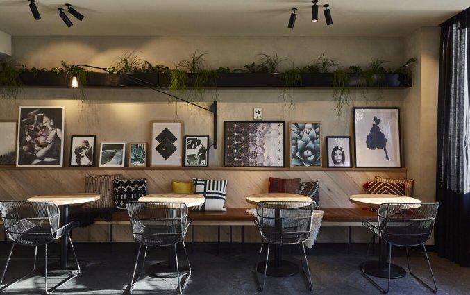 Restaurant van Hotel Indigo in Antwerpen