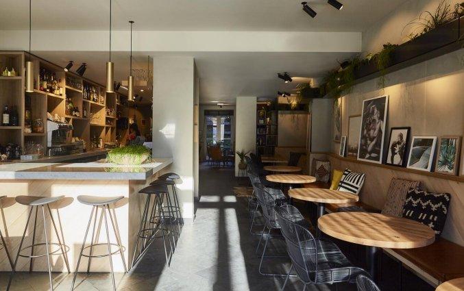 Bar van Hotel Indigo in Antwerpen