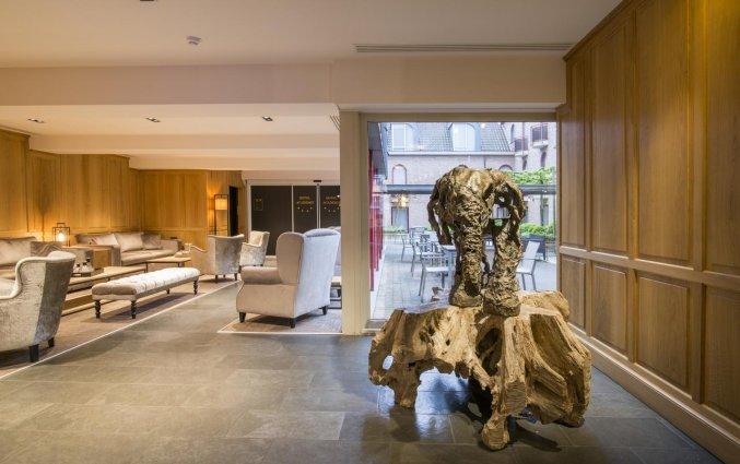 Gedeelde lounge van Hotel Academie Brugge
