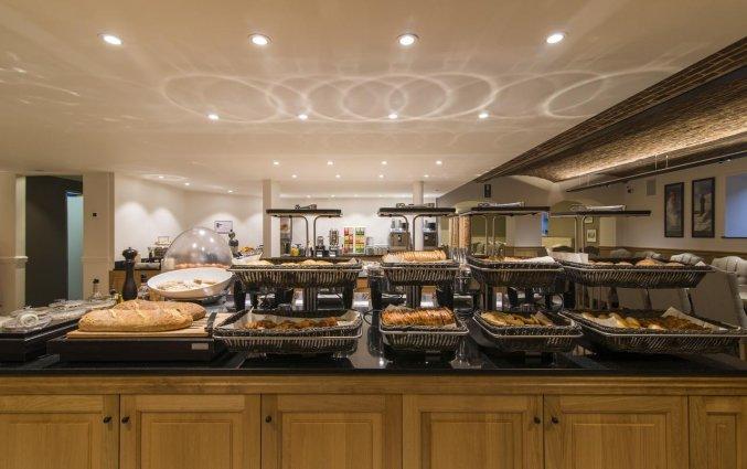 Ontbijtbuffet van Hotel Academie Brugge