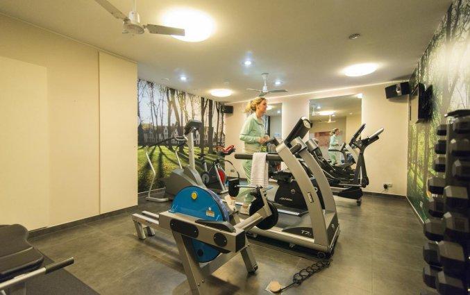 Fitnessruimte van Hotel Academie Brugge