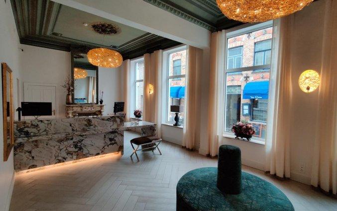 Lobby van Hotel Academie Brugge