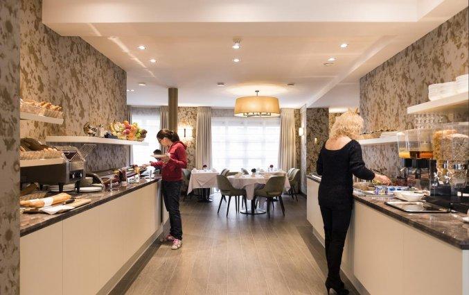 Ontbijtbuffet van Hotel Aragon in Brugge