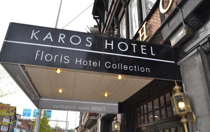 Entree van Hotel Floris in Brugge