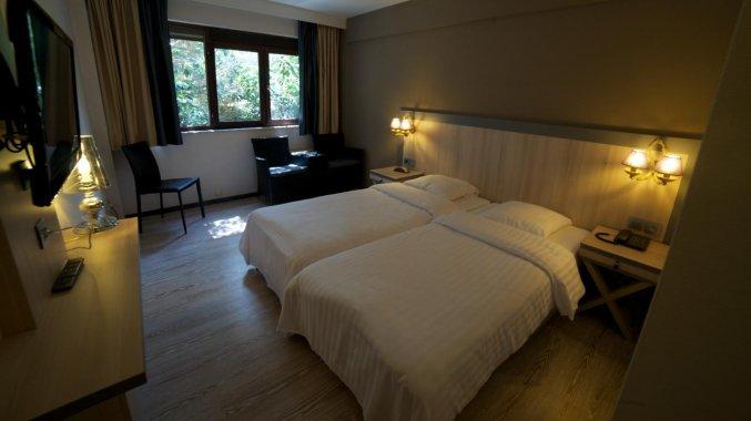 Tweepersoonskamer van Hotel Floris in Brugge