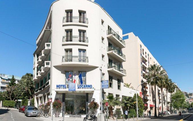 Vooraanzicht van Hotel Locarno Nice