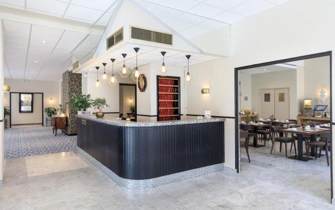 Receptie van Hotel Locarno Nice