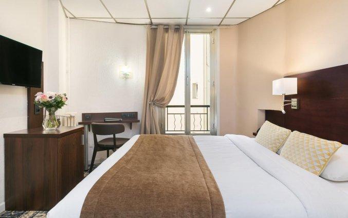 Tweepersoonskamer van Hotel Locarno Nice