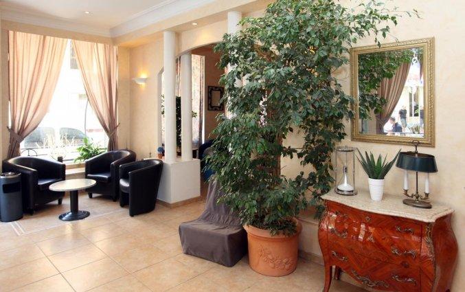 Lounge van hotel Trocadero Nice