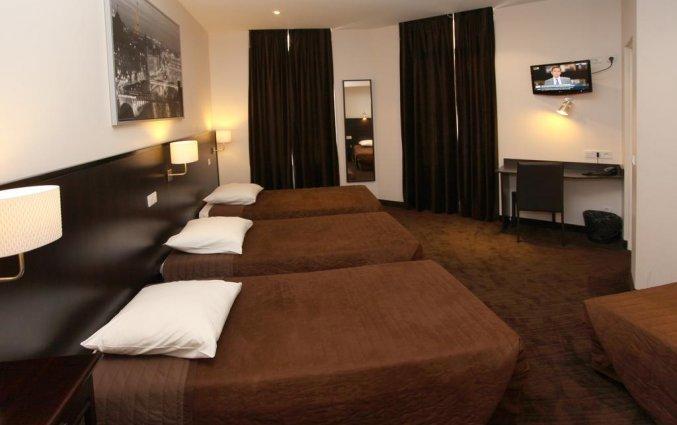 Driepersoonskamer van hotel Trocadero Nice