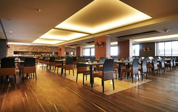 Ontbijtzaal van Hotel Hylli Antwerpen