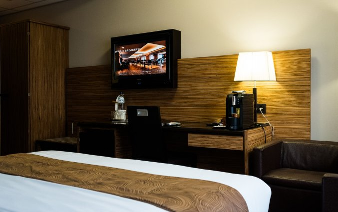 Tweepersoonskamer in Hotel Hyllit Antwerpen