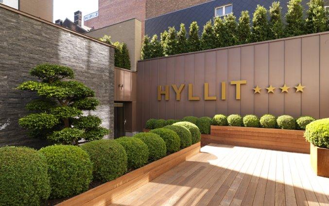 Terras van Hotel Hylli Antwerpen