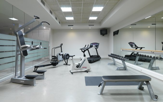 Fitnessruimte van Hotel Hylli Antwerpen