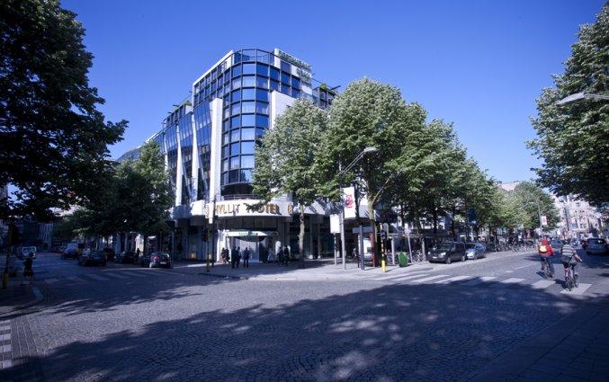 Exterieur van Hotel Hyllit Antwerpen