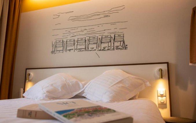 Tweepersoonskamer van Hotel du Pin Nice Port in Nice